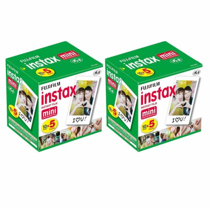 Fuji Instax Mini Film 100 Sheets