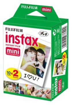 Fuji Instax Mini Film, 20 Sheets