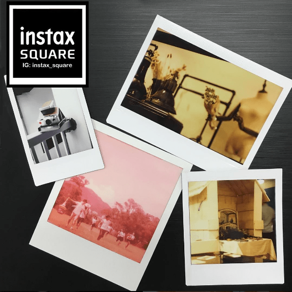 Instax Square Photo Size Comparison