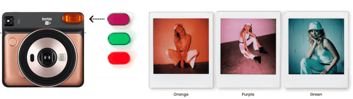 Instax Square SQ6 Color Filters
