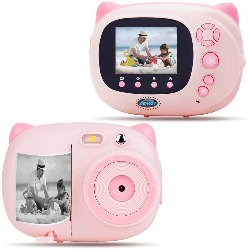 Amkov Kids Instant Camera